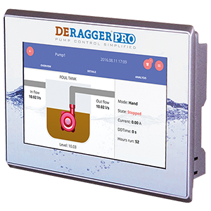 dragger pro control screen